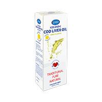 Ulei din ficat de cod cu aroma de lamaie 240 ml, Lysi