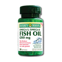 Ulei de peste 1200 mg, Omega 3 30 cps