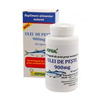 Ulei de peste 900 mg 40 cps, Hofigal