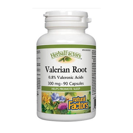 Valeriana forte 300mg 90 cps, Natural Factors