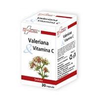 Valeriana & Vitamina C 30 cps, Farmaclass