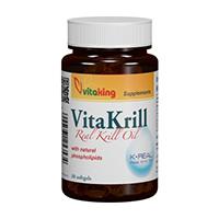 Ulei VitaKrill 495mg 30 cps, Vitaking