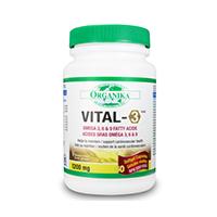 Vital-3 - complex de Omega 3-6-9  60 gelule