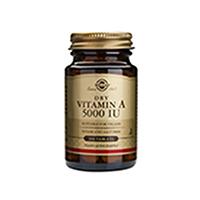 Vitamin A 5000IU 100 tbl, Solgar