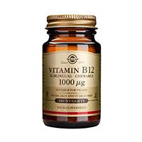 Vitamin B12 1000μg 100 tbl, Solgar