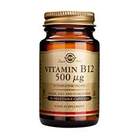 Vitamina B12 (Vitamin B12) 500μg 50 cps, Solgar