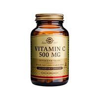 Vitamin C 500mg 100 cps, Solgar