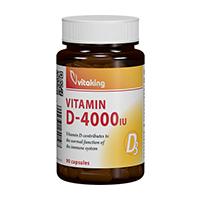 Vitamina D 4000UI 90 cps, Vitaking