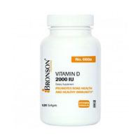Vitamina D3 500mcg (2000UI) 120 cps