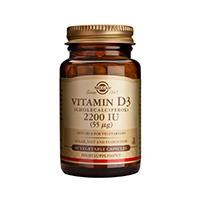 Vitamina D3 2200UI 50 cps, Solgar