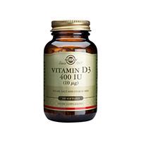 Vitamina D3 400IU 100 cps, Solgar