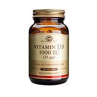 Vitamin D3 1000 UI 100 softgels