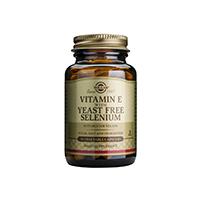 Vitamin E + Selenium 50 cps, Solgar