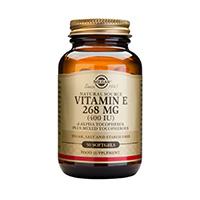 Vitamin E 400 UI 50 cps, Solgar