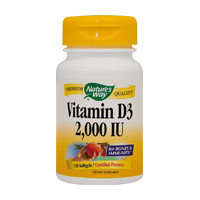 Vitamin D3 2000UI 30 cps, Nature's Way
