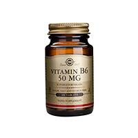 Vitamin B-6 50mg 100 tbl, Solgar