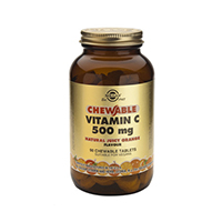 Vitamina C 500mg 90 tablete masticabile, Solgar
