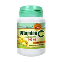 Vitamina C Lemon 60 tbl, Cosmo Pharm