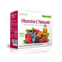 Vitamina C naturala 60 cps