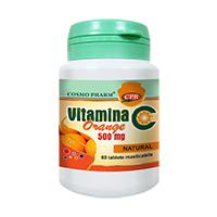 Vitamina C Orange 60 tbl, Cosmo Pharm