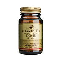 Vitamina D3 1000 UI 90 tbl, Solgar