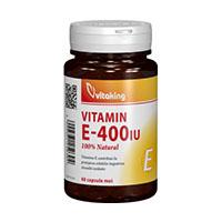 Vitamina E - Naturala 400UI 60 cps, Vitaking