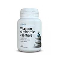 Vitamine si minerale esentiale 40 cpr, Alevia