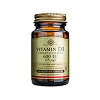 Vitamina D3 600UI  60 cps, Solgar
