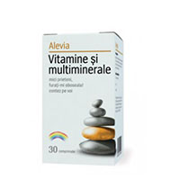 Vitamine si multiminerale 30 cp