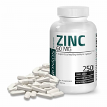 Zinc 60 mg 250 tbl, Bronson