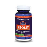 Zeolit Detox+ 60 cps, Herbagetica