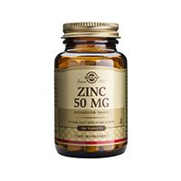 Zinc Gluconate 50mg 100 tbl, Solgar