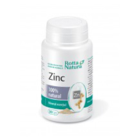 Zinc natural 30 cps, Rotta Natura