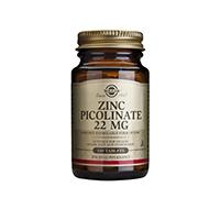 Zinc Picolinate 22mg 100 tbl, Solgar