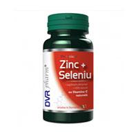 Zinc + Seleniu cu Vitamina C naturala 60 cps